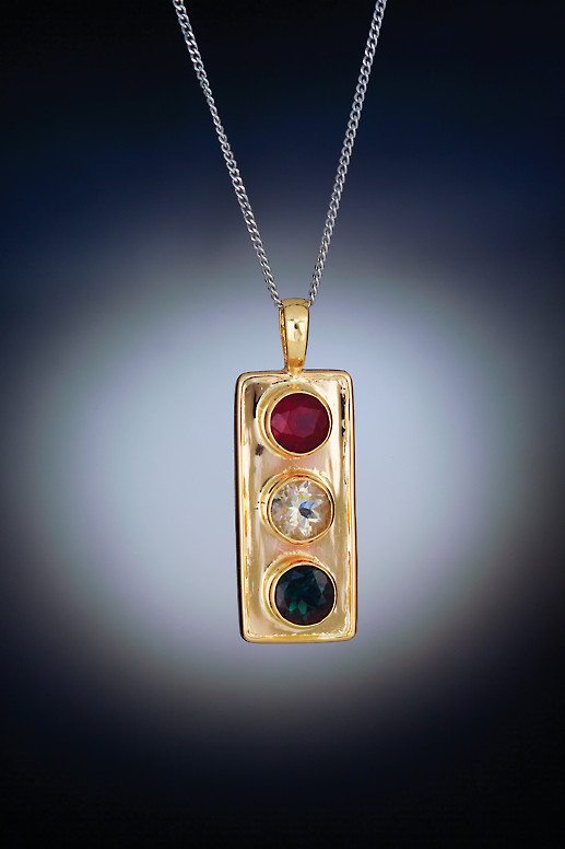 Stop Light Pendant