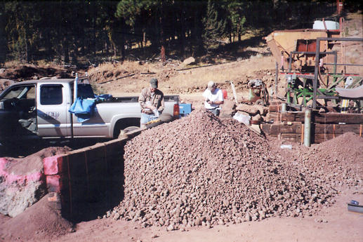 Raw Ore Pile